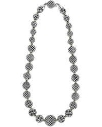 Lagos - 'caviar Forever' Lattice Ball Necklace - Lyst