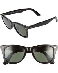 Ray-Ban - 52mm Square Sunglasses - Lyst