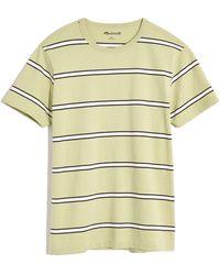 Madewell - Men's Allday Garrett Stripe Crewneck Pocket T-shirt - Lyst