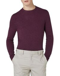 TOPMAN - Crewneck Sweater - Lyst