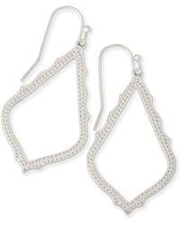 Kendra Scott Sophia Drop Earrings - Metallic