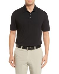 Cutter & Buck Advantage Golf Polo - Black