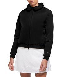 Nike Shield Golf Bomber Jacket - Black