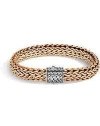 John Hardy - Men's Large Flat Chain Bracelet - Lyst