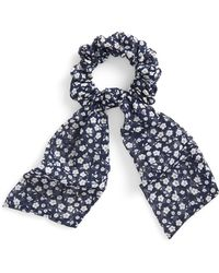 Tasha - Floral Draped Scrunchie - Lyst