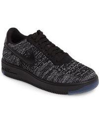 online store 7a2cd 6dee7 Nike -  air Force 1 Flyknit Low  Sneaker - Lyst
