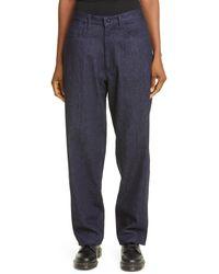 Y's Yohji Yamamoto Oversize Jeans - Blue