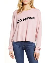 Wildfox - Monte Dog Person Thermal Top - Lyst
