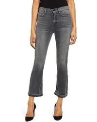 Hudson Jeans Holly Release Hem Ankle Flare Jeans - Blue