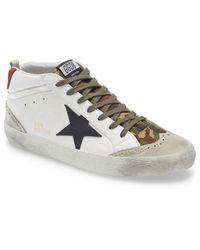 Golden Goose Deluxe Brand - Mid Star Sneaker - Lyst