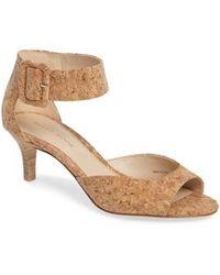 Pelle Moda - 'berlin' Ankle Strap Sandal - Lyst
