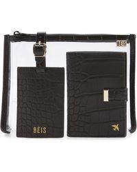 BEIS - The Travel Set Passport Wallet - Lyst
