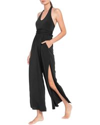 Robin Piccone Cover-up Jumpsuit - Black