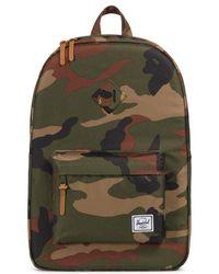 Herschel Supply Co. - Heritage Print Backpack - - Lyst