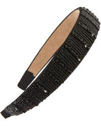 Tasha Beaded Headband - Black