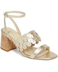 Butter Shoes - Butter Finley Studded Ankle Strap Sandal - Lyst