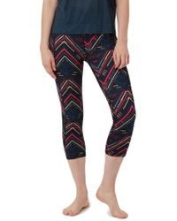 Sweaty Betty - Double Duty Reversible Crop Leggings - Lyst