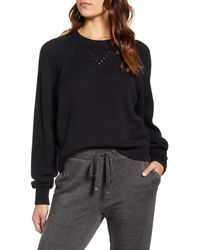 Lou & Grey Marlowe Sweater - Black