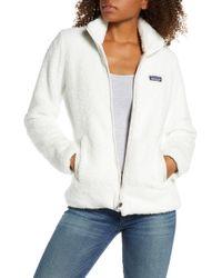 Patagonia Los Gatos Fleece Jacket - White