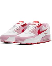 Nike Air Max 90 Valentine's Day Sneaker - Red