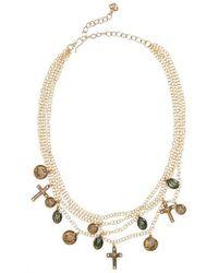 Virgins, Saints & Angels - Les Celestes Stellar Necklace - Lyst