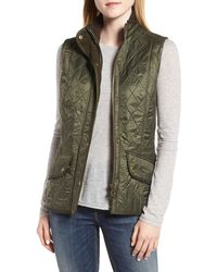 Barbour Cavalry Quilted Vest - Green