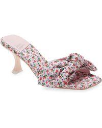 Jeffrey Campbell Bow Slide Sandal - Pink