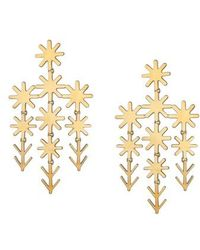 Asha - Uma Chandelier Earrings - Lyst