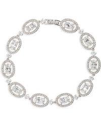 Nadri - Crystal Halo Bracelet - Lyst