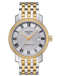 Tissot - Bridgeport Automatic Bracelet Watch - Lyst