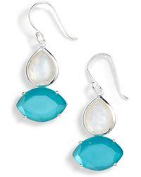 Ippolita - Wonderland 2-stone Drop Earrings - Lyst