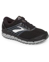 b18a5aafddb Brooks Beast 16 Le Running Shoe in Gray for Men - Lyst