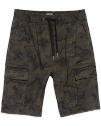 Zanerobe - Sureshot Camo Cargo Shorts - Lyst