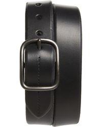 Shinola Leather Belt - Black