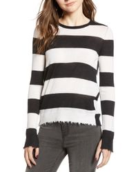 Zadig & Voltaire - Source Stripe Cashmere Sweater - Lyst