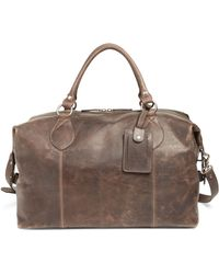 Frye 'logan' Leather Overnight Bag - Multicolour