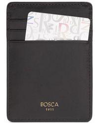Bosca - 'old Leather' Front Pocket Wallet - - Lyst
