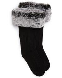 UGG - Ugg Uggpure(tm) Tall Rain Boot Sock - Lyst