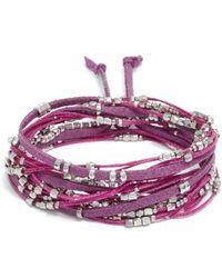 Serefina - Convertible Wrap Bracelet - Lyst