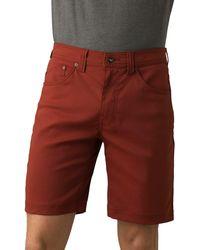 Prana - Brion Slim Fit Shorts - Lyst
