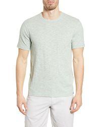 Faherty Brand - Heathered Crewneck T-shirt - Lyst