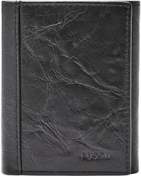 Fossil - Neel Leather Wallet - - Lyst
