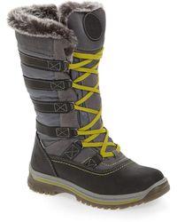 Santana Canada Milani Waterproof Faux Fur Boots - Grey