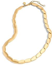 J.Crew | J.crew Oval Necklace | Lyst