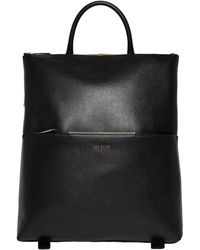 Ted Baker Kryshia Leather Backpack - Black
