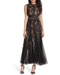 Bronx and Banco - Saba Lace And Tulle Midi Dress - Lyst