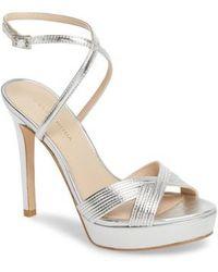 Pelle Moda - Olson Platform Sandal - Lyst