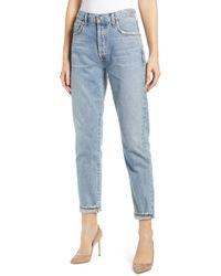 Citizens of Humanity Liya High Waist Slim Jeans - Blue