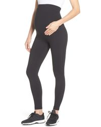 Zella Mamasana Live In Maternity Ankle Leggings - Black