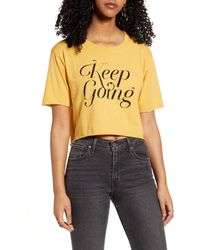 Project Social T - Keep Going T-shirt - Lyst